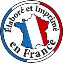 Elabore et Imprime en France Blois Centre 41 Caen Normandie 14 Paris Ile De France 94