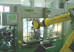 Sermatec - Robotized ECM machine
